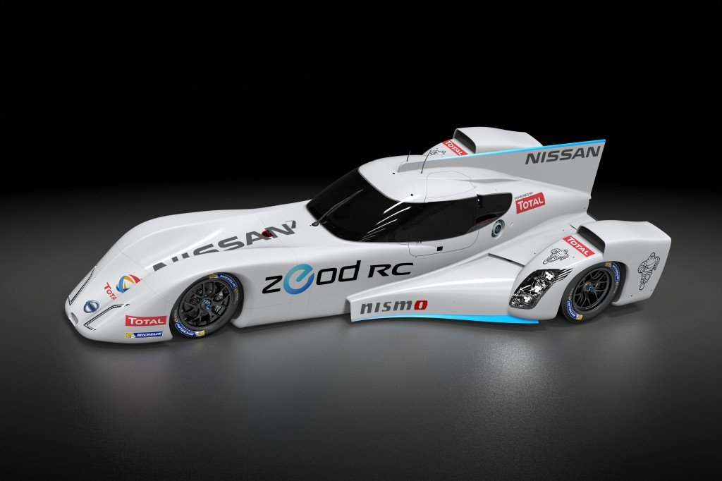 Nissan ZEOD RC track