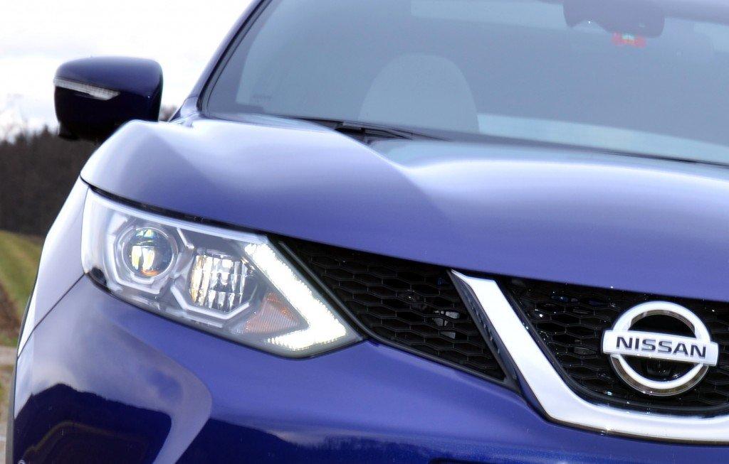 Nissan Qashqai LED