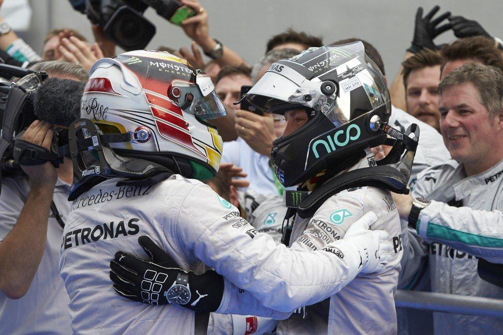 IWC Schaffhausen Lewis Hamilton Nico Rosberg