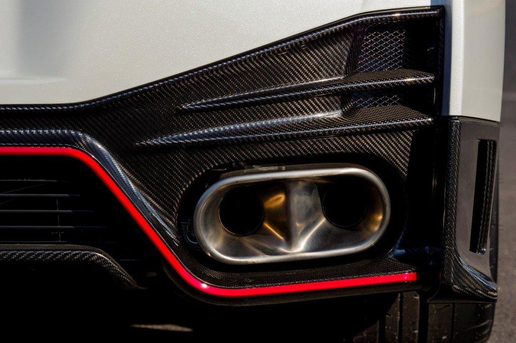 Nissan GT-R Nismo Exhaust