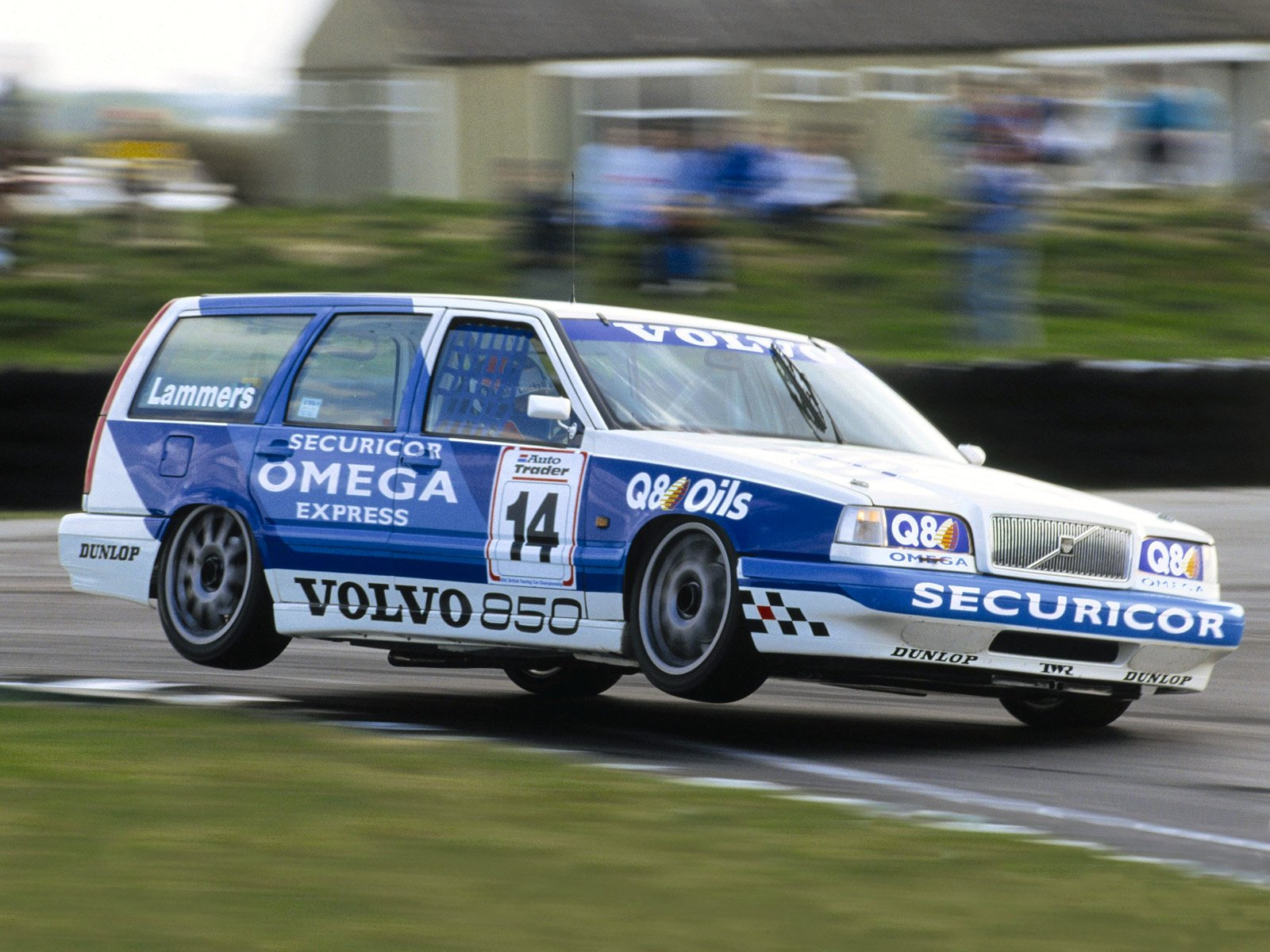 Volvo 850 Kombi im Tourenwagensport