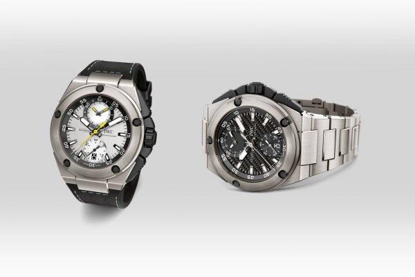 IWC Schaffhausen Uhren für Nico Rosberg und Lewis Hamilton