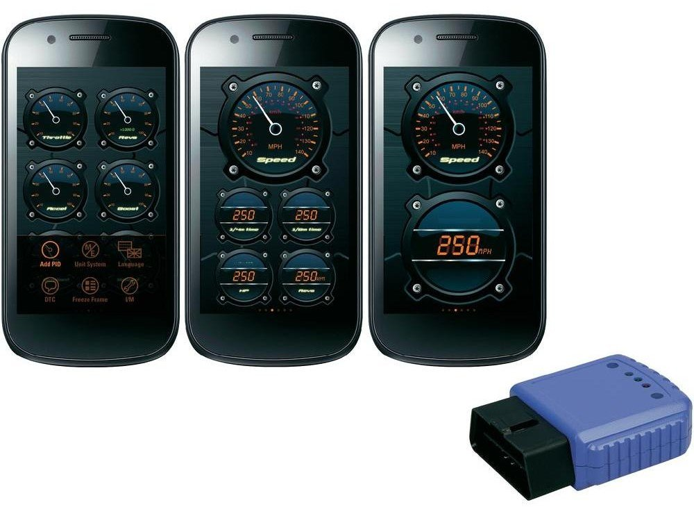 cartrend Bluetooth OBD-II Car Interface