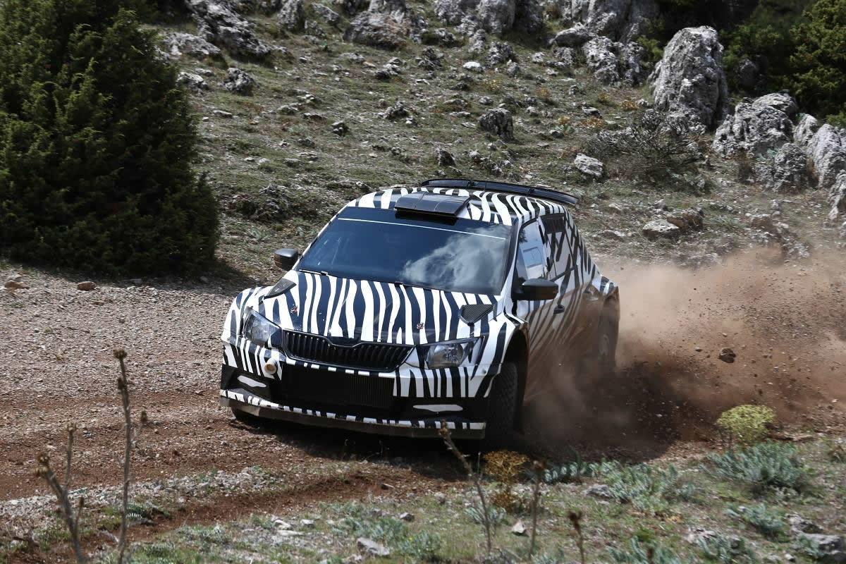 Skoda Fabia R5 Rally 2015