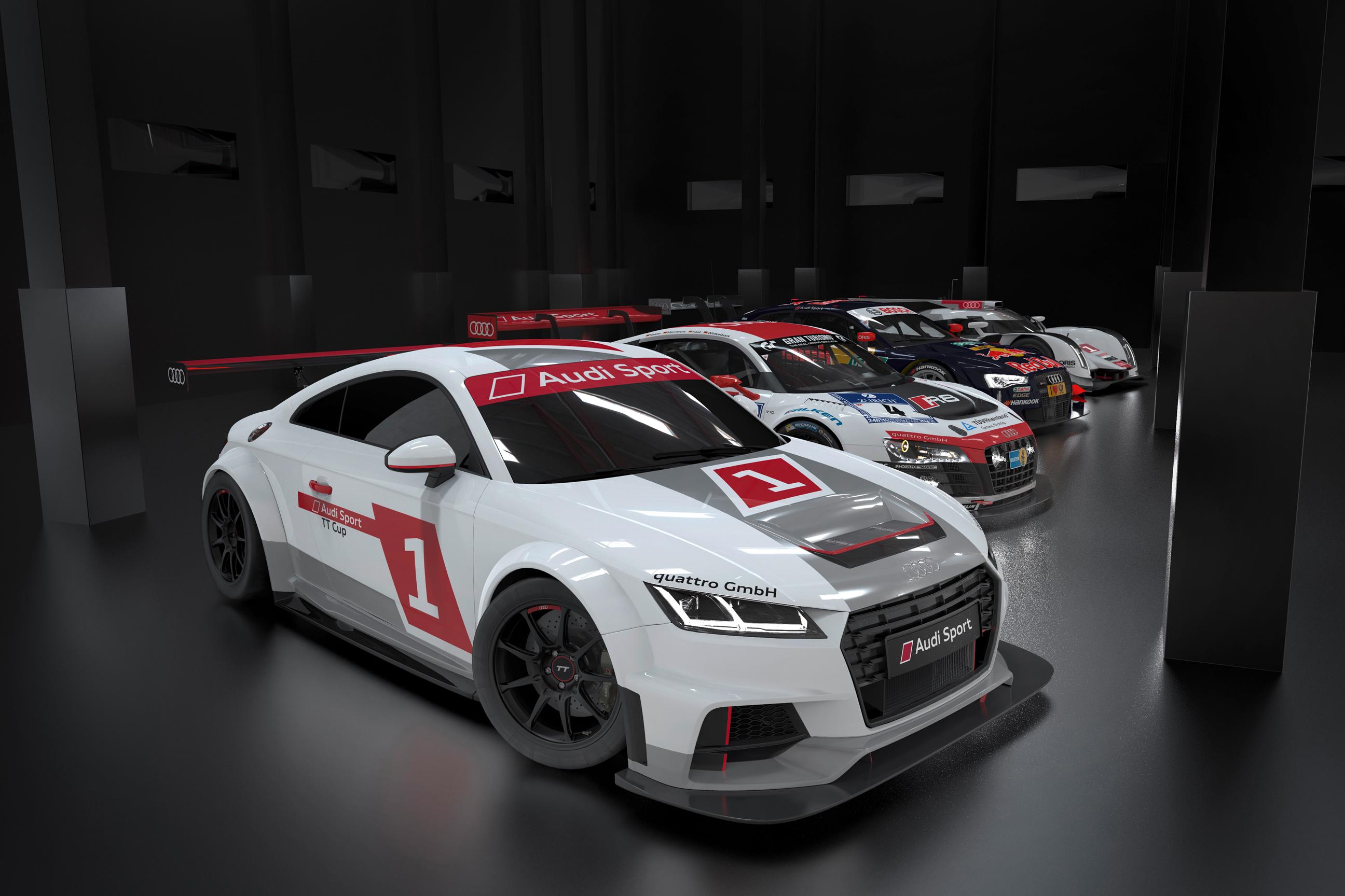 Audi TT + Hankook = Audi Sport TT Cup