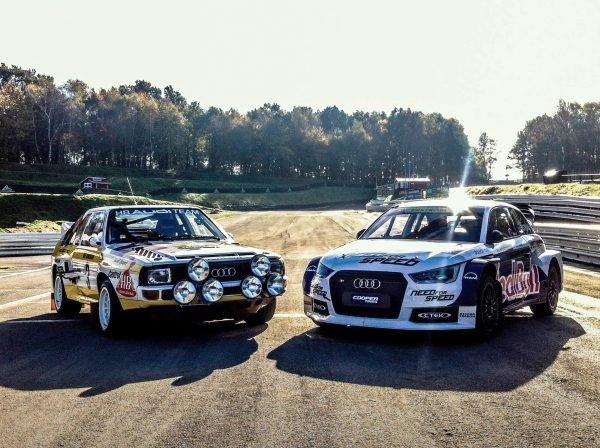 Audi S1 EKS RX quattro Rallycross