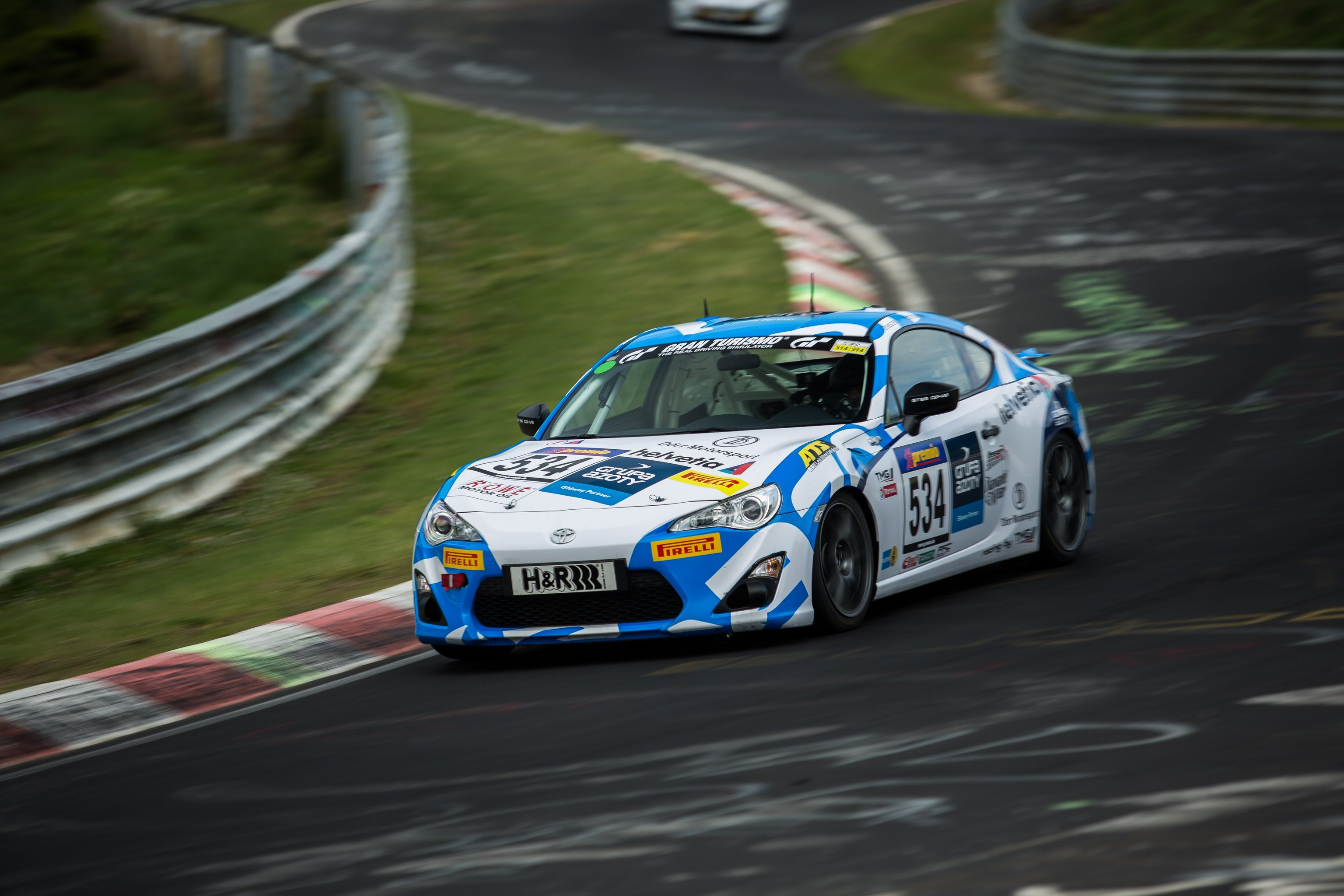 Toyota GT86 Cup 2015 - TMG GT86 CS-V3