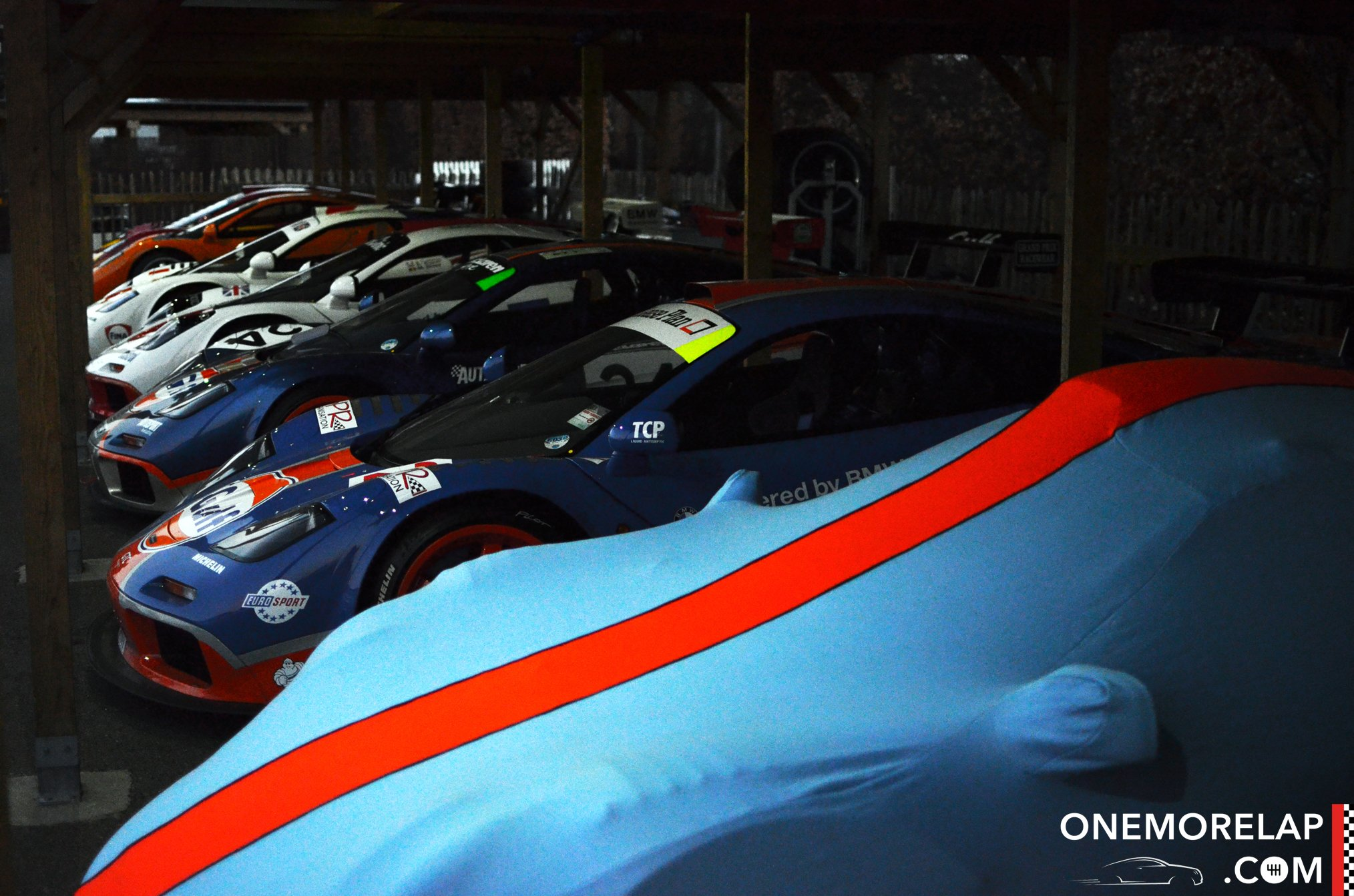 McLaren beim Goodwood Members Meeting 2015 #73MM