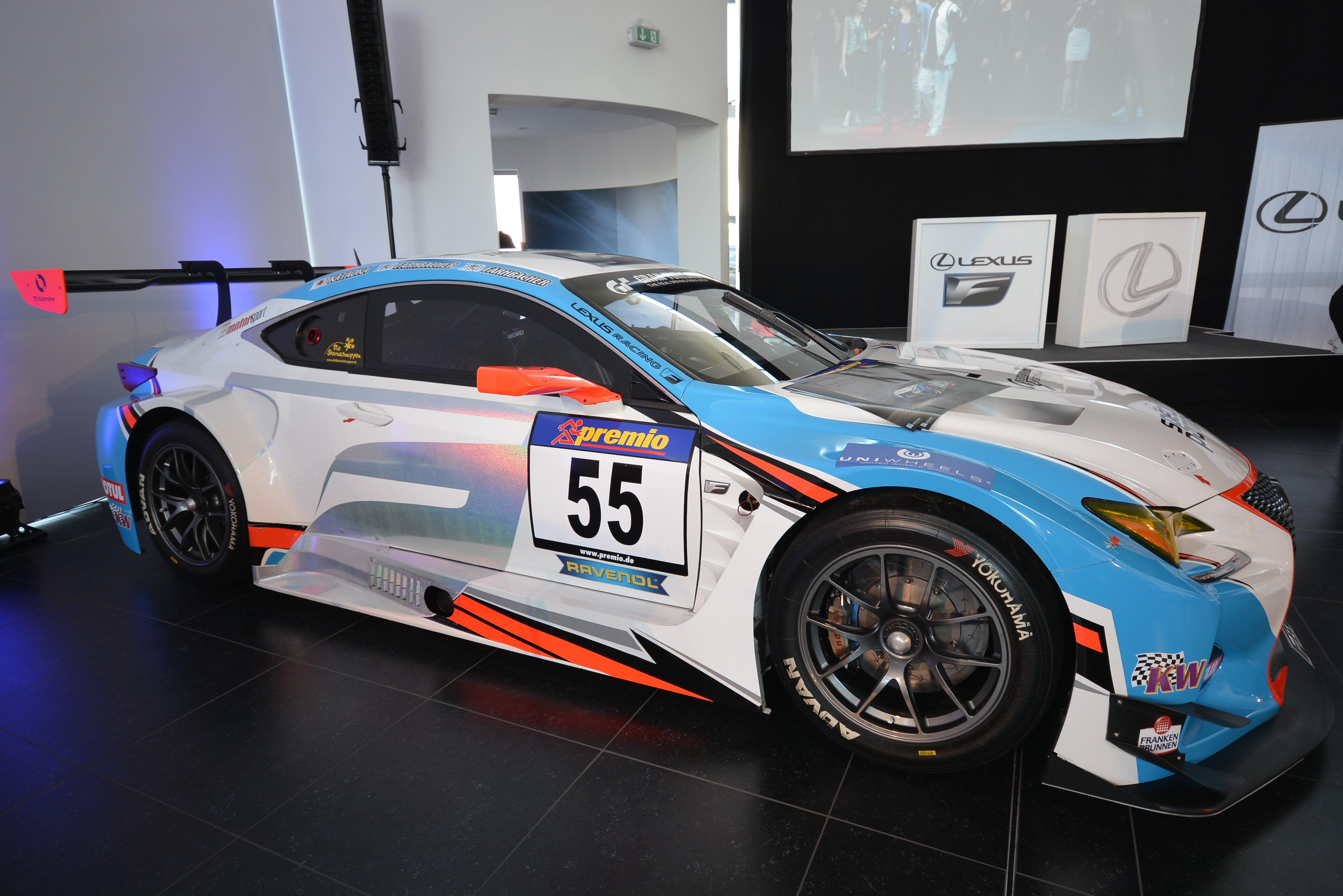 Lexus RC F GT3 Konzept