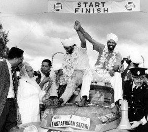 Vor 50 Jahren: Volvo PV 544 siegt bei Safari-Rallye