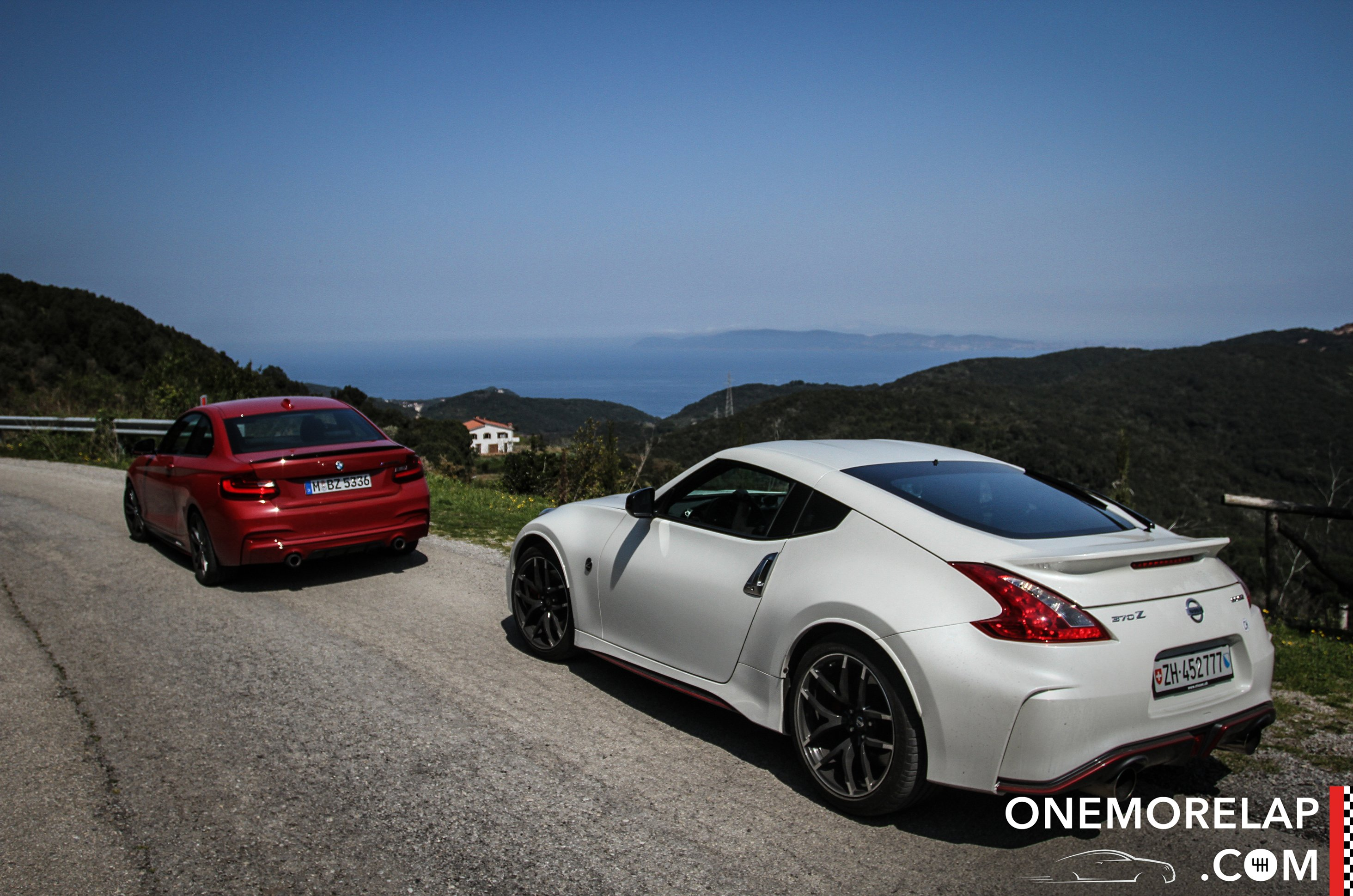 #RoadToElba: Nissan 370Z Nismo 2015 & BMW M235i M Performance