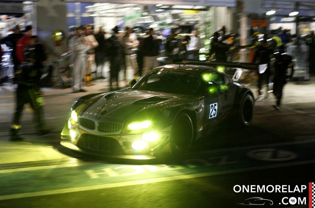 Der BMW Z4 GT3 #25 vom BMW Sports Trophy Team Marc VDS pilotiert von Maxime Martin, Lucas Luhr, Richard Westbrook und Markus Palttala