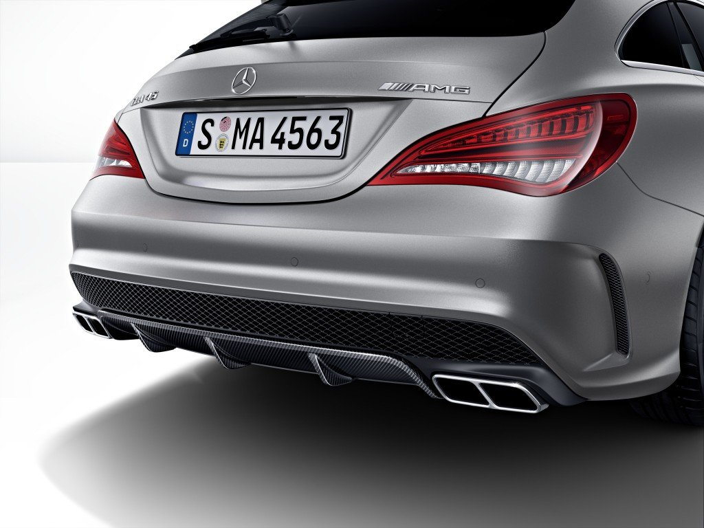 Mercedes-AMG CLA 45 Shooting Brake für die Gross. Stadt. Jagd Zürich