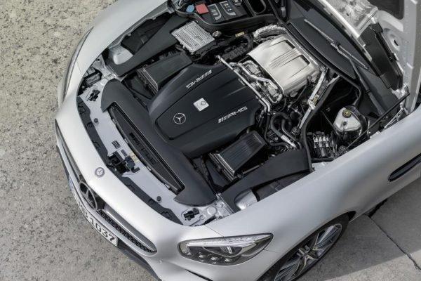 AMG 4,0-Liter V8-Biturbomotor