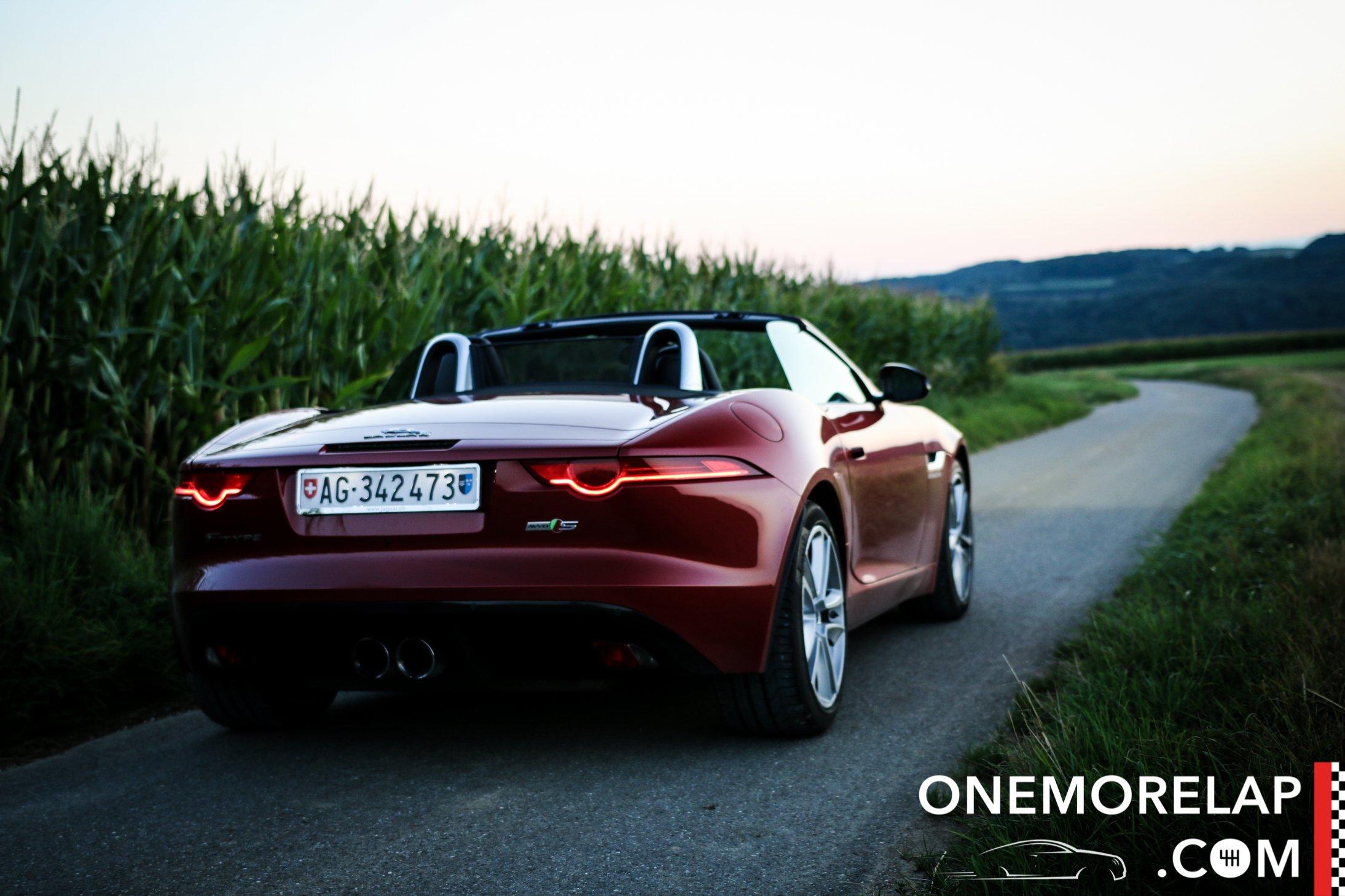 Jaguar F-Type S AWD Test