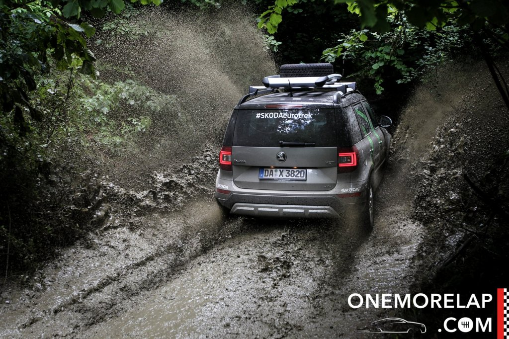#SkodaEurotrek: Skoda Yeti 4x4 Offroad