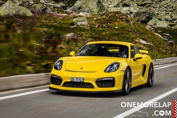 Kurztest: Porsche Cayman GT4