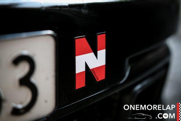 N-Aufkleber Nürburgring Nordschleife