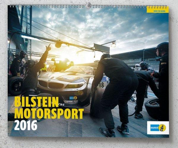 BILSTEIN Motorsportkalender 2016