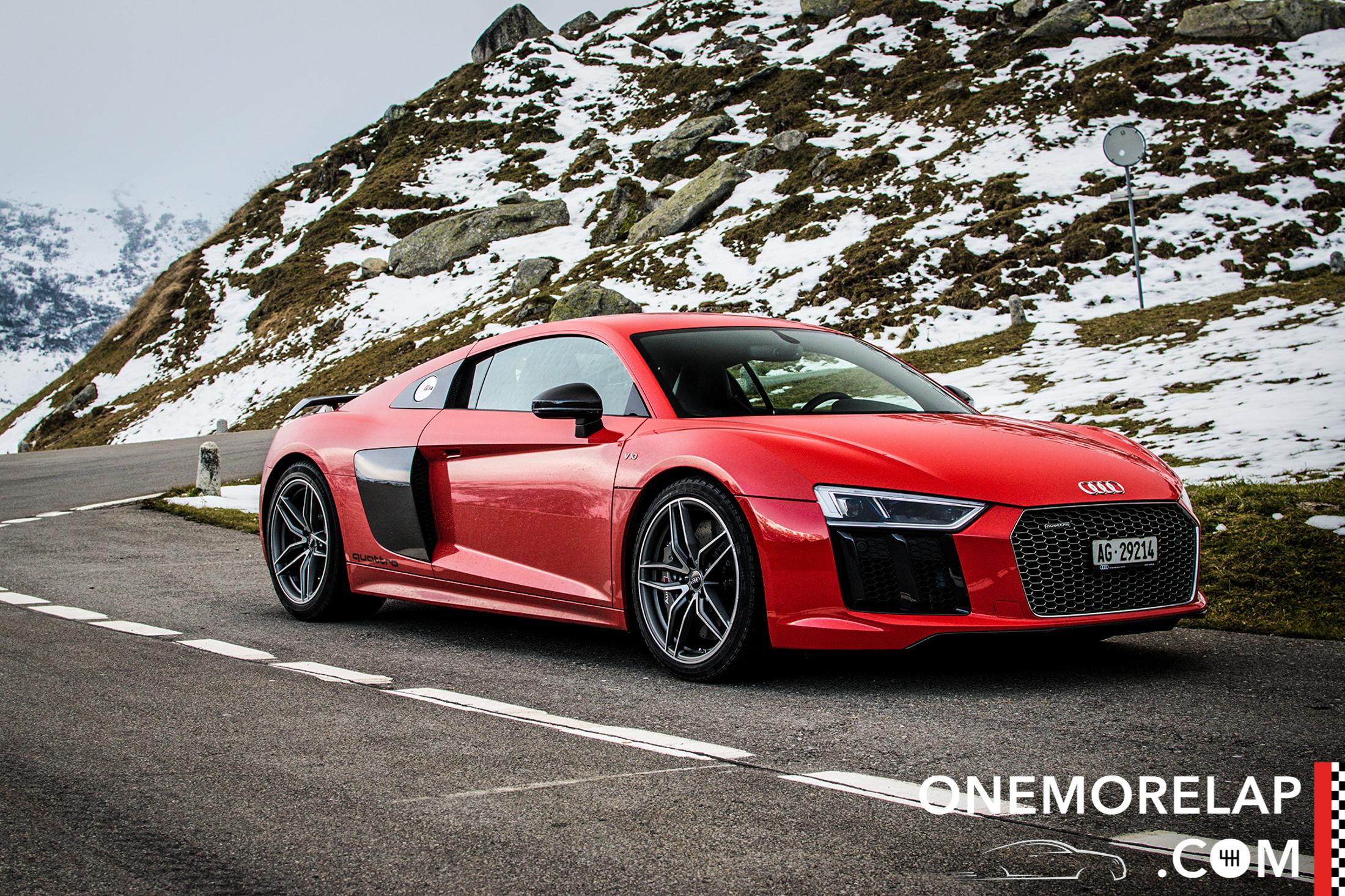 Kurztest: Audi R8 V10 Plus