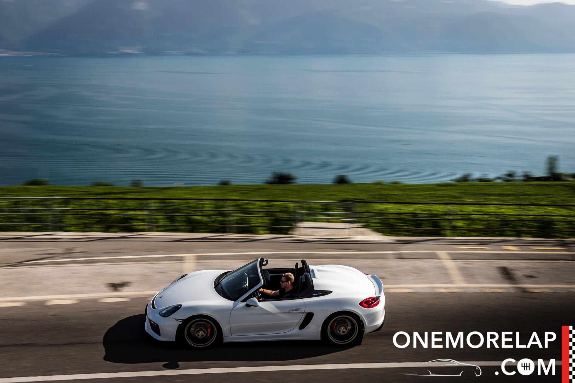Kurztest: Porsche Boxster Spyder 2015