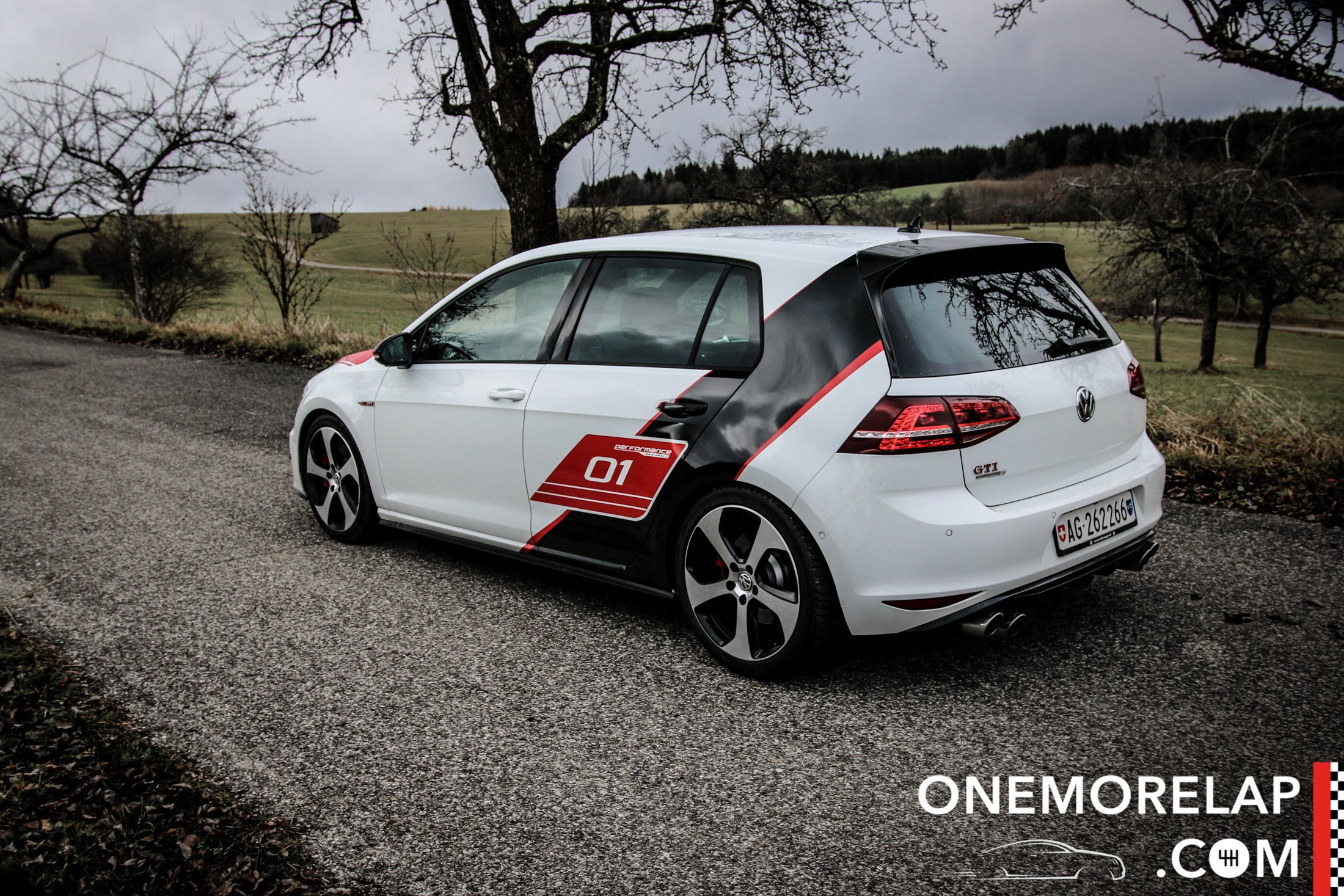 VW Golf GTI Performance Limited Edition