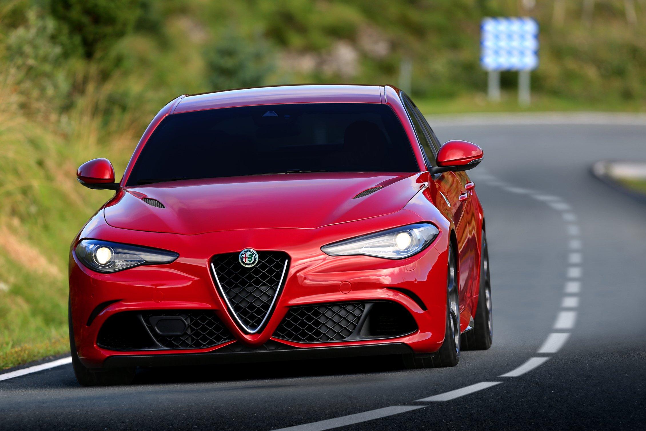 Alfa Romeo Giulia QV 2016