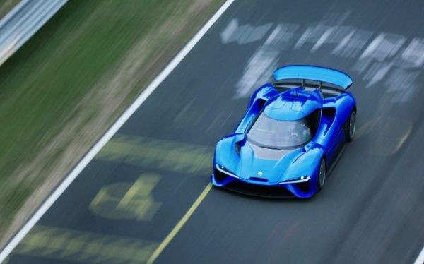 NIO EP9: Schnellstes Elektroauto auf der Nürburgring Nordschleife