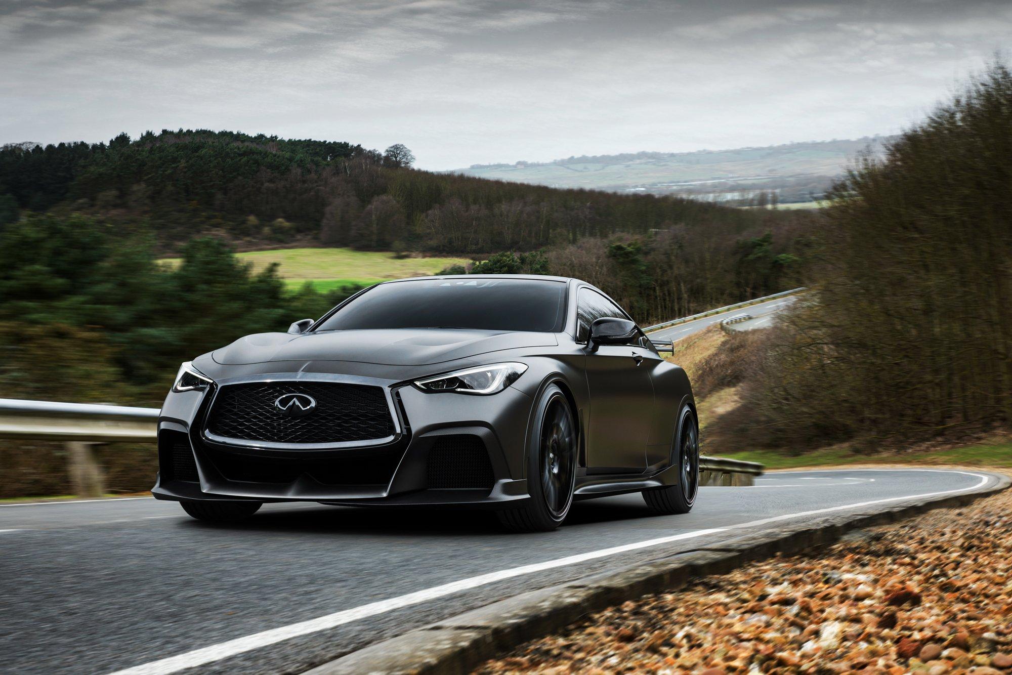 Infiniti Project Black S mit F1-Hybridantrieb
