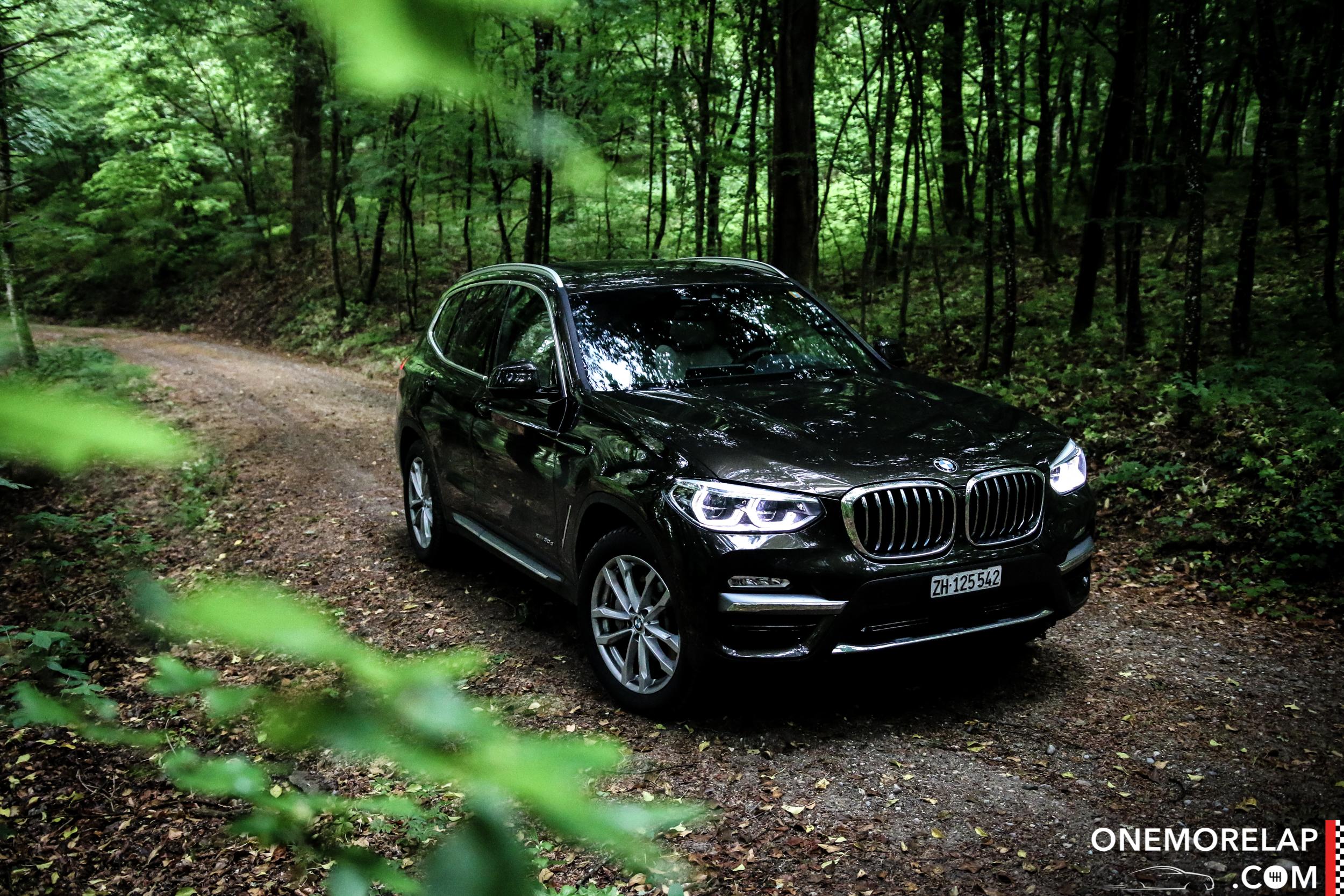 Fahrbericht BMW X3 30d G01 – eMoreLap
