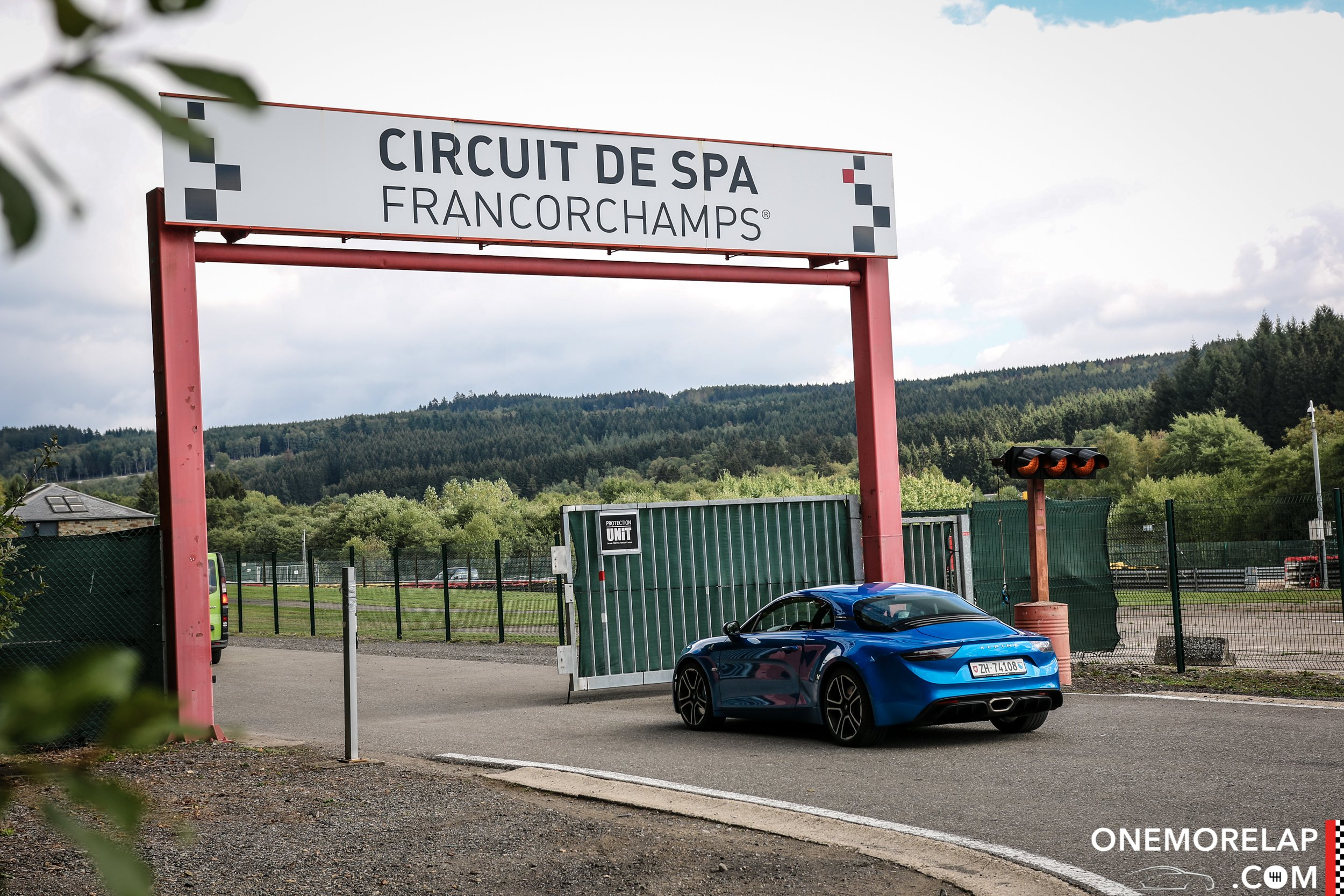 Roadtrip: Mit der neuen Alpine A110 nach Spa-Francorchamps