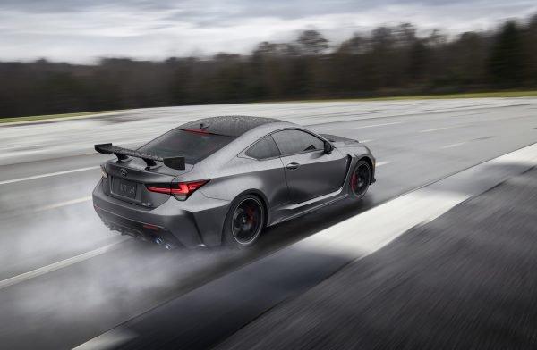 Neuvorstellung: Lexus RC F Track Edition